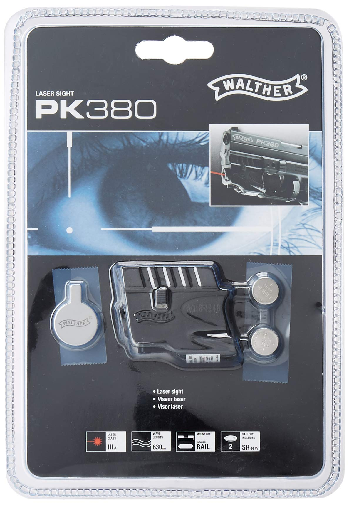 Walther 505100 PK380 Laser by Walther