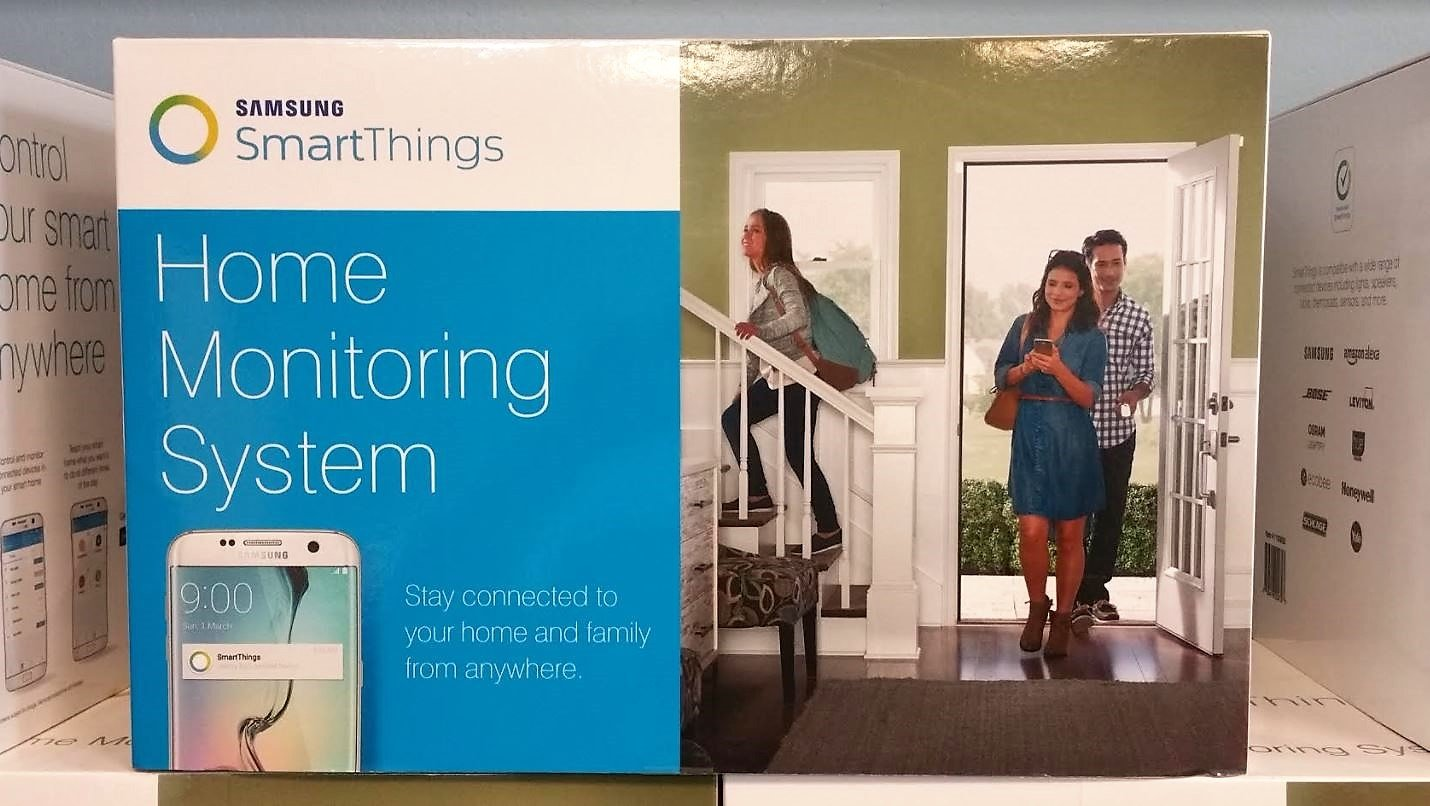 Samsung SmartThings Home Monitoring System