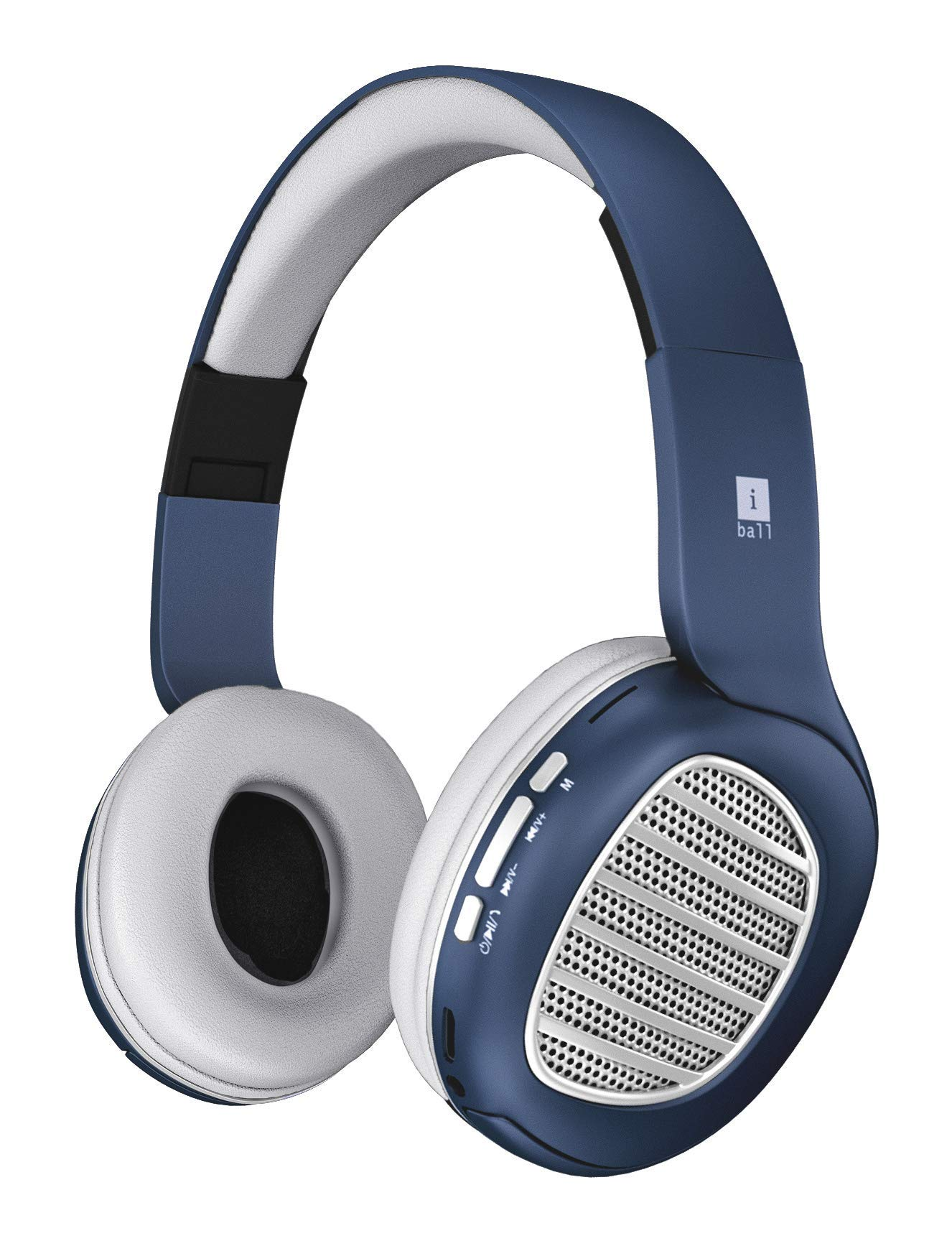 Amazon price history for (Renewed) iBall Decibel BT01 Smart Headset with Alexa Enabled (Blue, White and Silver)