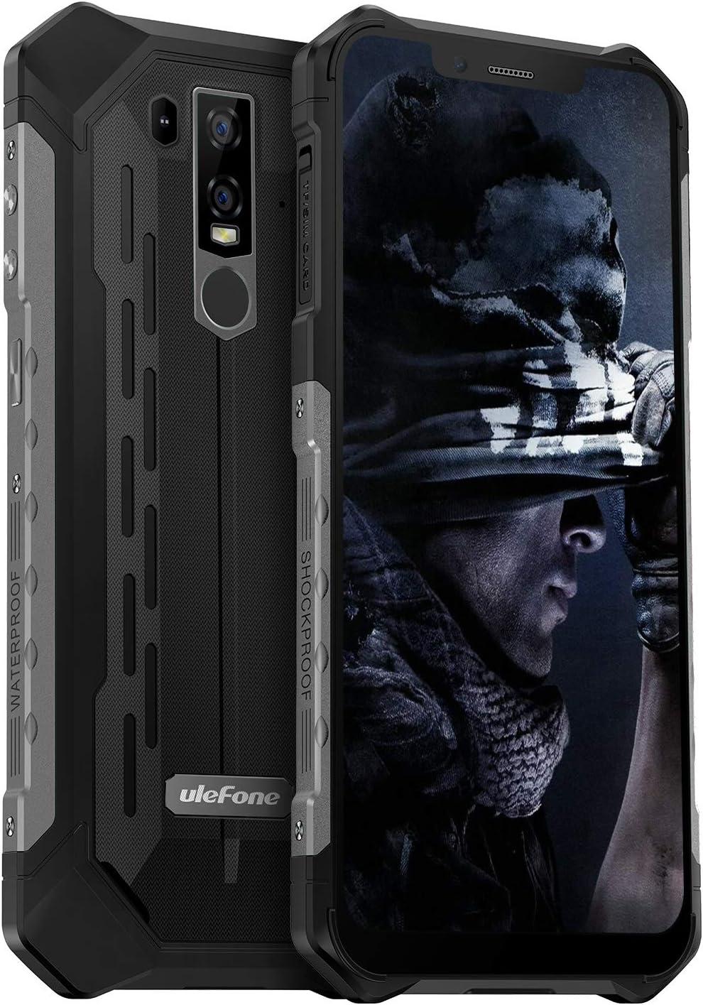 Rugged Cell Phone Unlocked Ulefone Armor 6e Ip68 Waterproof Outdoor Smartphone Android 9 Helio P70 Octa Core 4gb 64gb 6 2 Inch 5000mah Dual Camera Global Dual 4g Fingerprint Face Unlocked Nfc Black Amazon Com