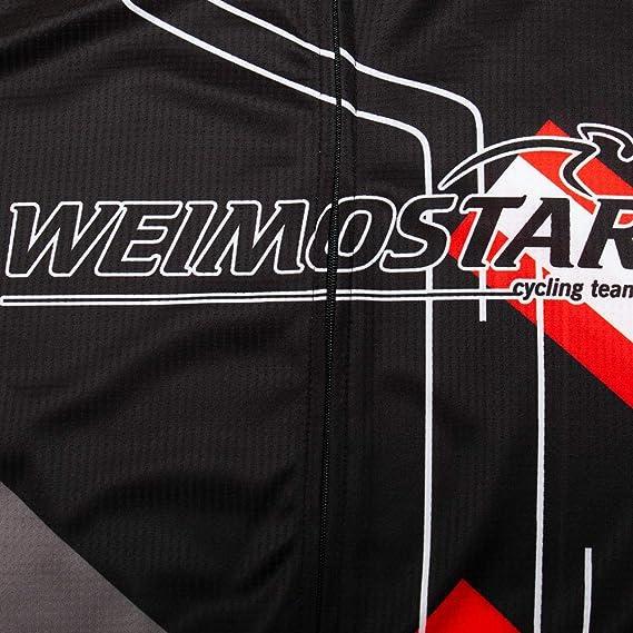 Weimostar Radfahren /ärmellose M/änner Fahrradoberteile Rennrad Rennweste