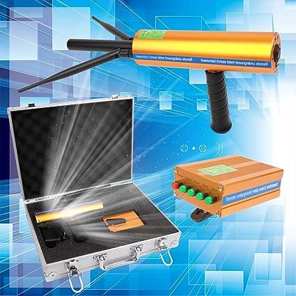 KKmoon Remote Underground Gold Silver Copper Diamond Detector Kit de instrumentos de búsqueda de metal con