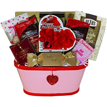 Amazon my darling valentine gift basket gourmet chocolate my darling valentine gift basket negle Images