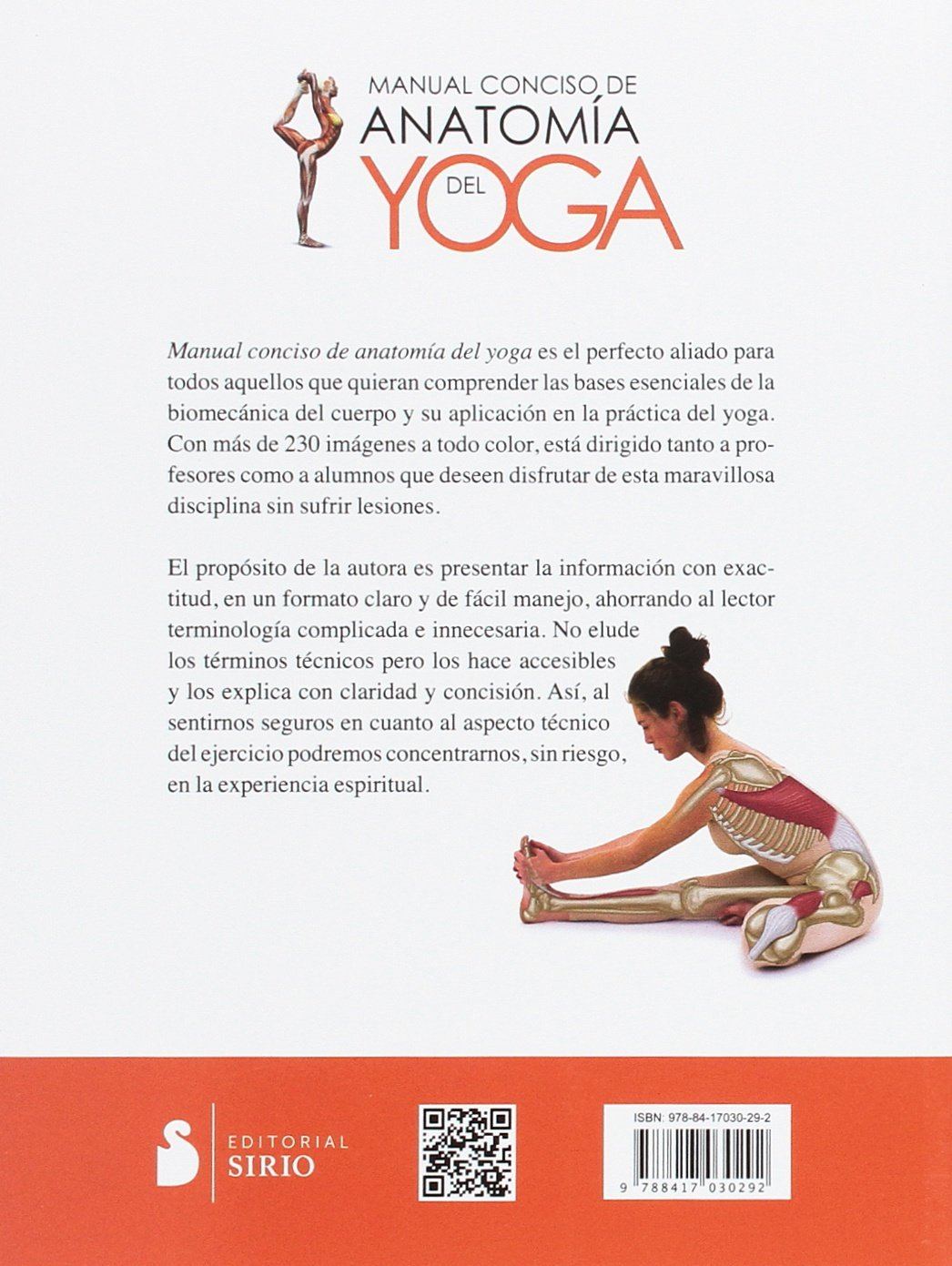 Manual conciso de anatomía del yoga (Spanish Edition): Jo Ann ...