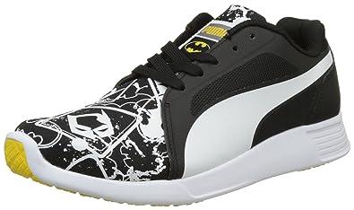 Puma Unisex-Kinder Batman ST Trainer Evo Street Jr Low-Top, Schwarz Black 1161e37ecb