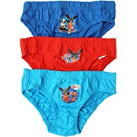 GetWivvit Garçons Pack de 3 Bing Lapin Culotte Coton Slip Tailles à partir de 18 Mois à 5 Ans