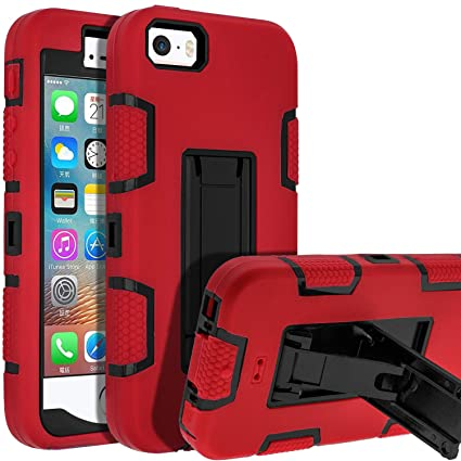 Amazon.com: Carcasa para iPhone 5S, iPhone SE, iPhone 5 ...