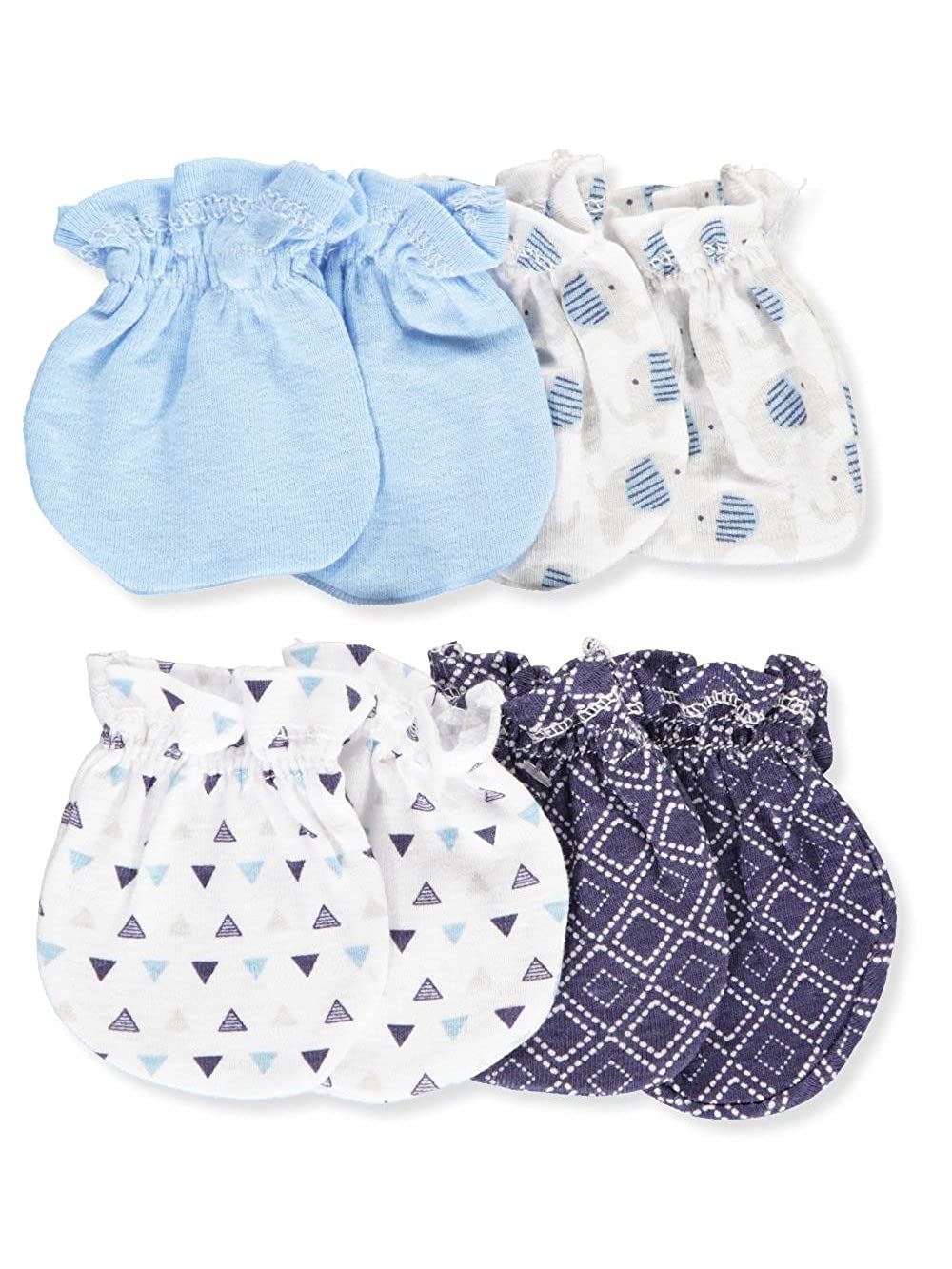 Cribmates Baby Boys' 4-Pack Scratch Mittens