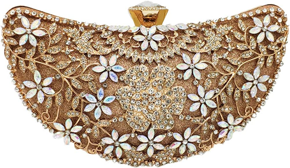Flower Women Evening Bags and Clutches Wedding Formal Dinner Handbags and Purses