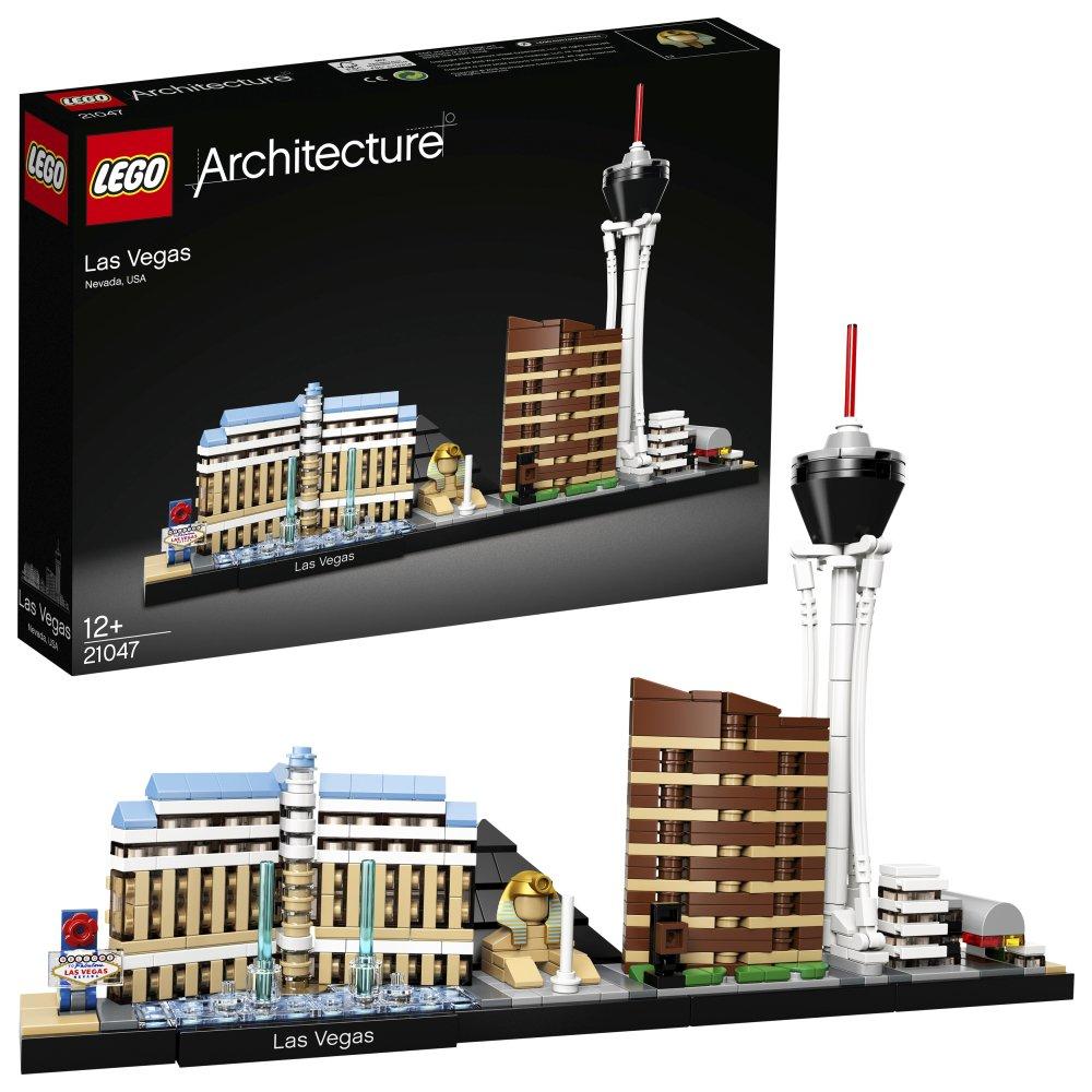 乐高LEGO 建筑系列 21047 拉斯维加斯