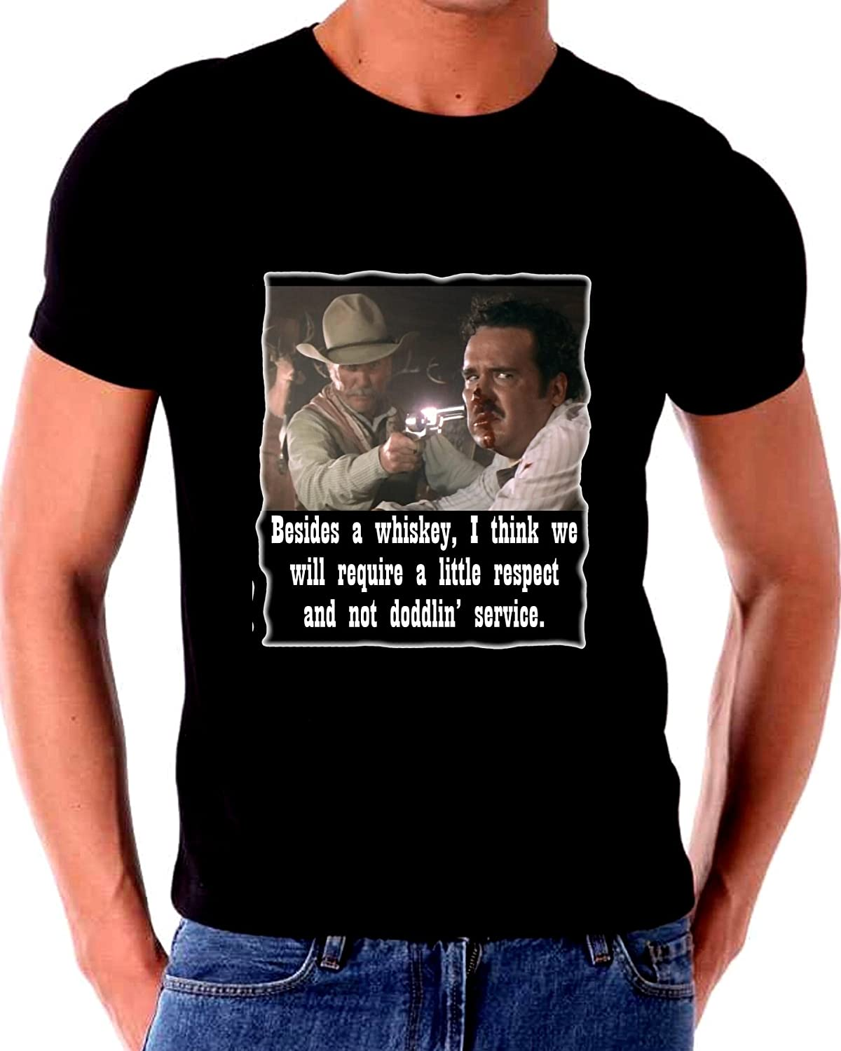 Require Respect Not doddline Service T Shirt Lonesome Dove
