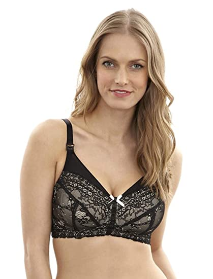 a7ff148ab5356 A Pea in the Pod Panache Sophie Wireless Lace Nursing Bra at Amazon ...
