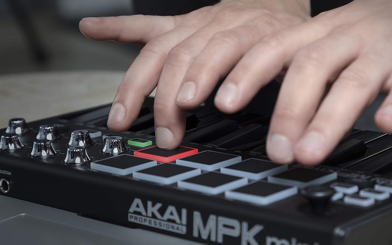 AKAI Professional MPK Mini Mk2 - Teclado maestro USB: Amazon.es: Instrumentos musicales