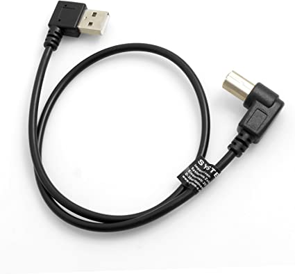 System S Usb A Male To Type B Male 90 Degree Left Computers Accessories