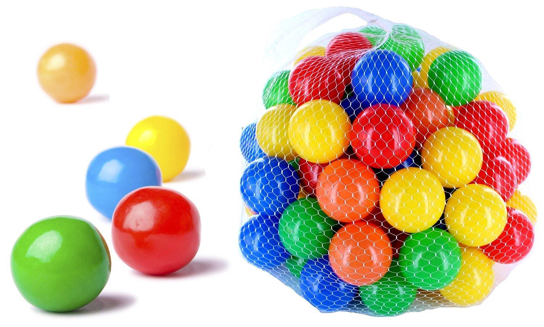 Bunt CM3® 50 – 10000 Ptuttiine Coloreeate per Bambini, Neonati e Animali, 55 mm Diametro per Bambini a Partire da 0 149 pz