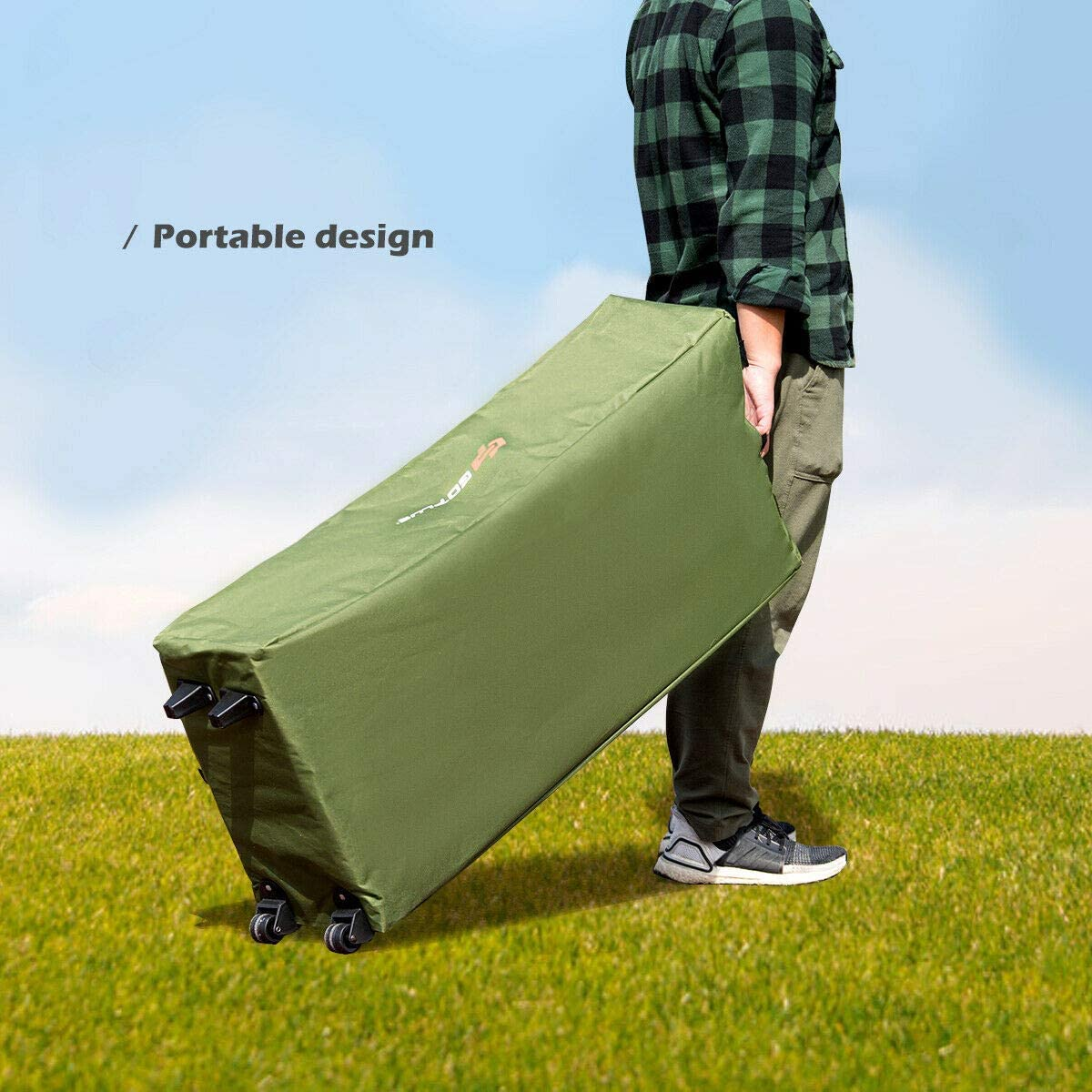 Details about  /1pc Foot Air Inflation Tent Air Mattress Ultralight Portable Outdoor Camping Hik