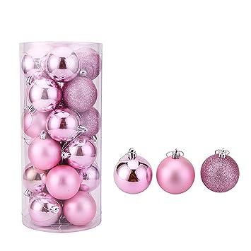 Amazon.de: Silver Ladies 24 PC-Weihnachten Dekoration für den ...