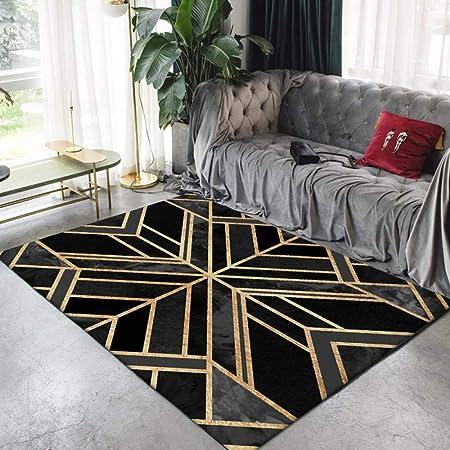 Moderne Tapis Salon Chambre Poil Court Vinyl Rug Art créatif ...