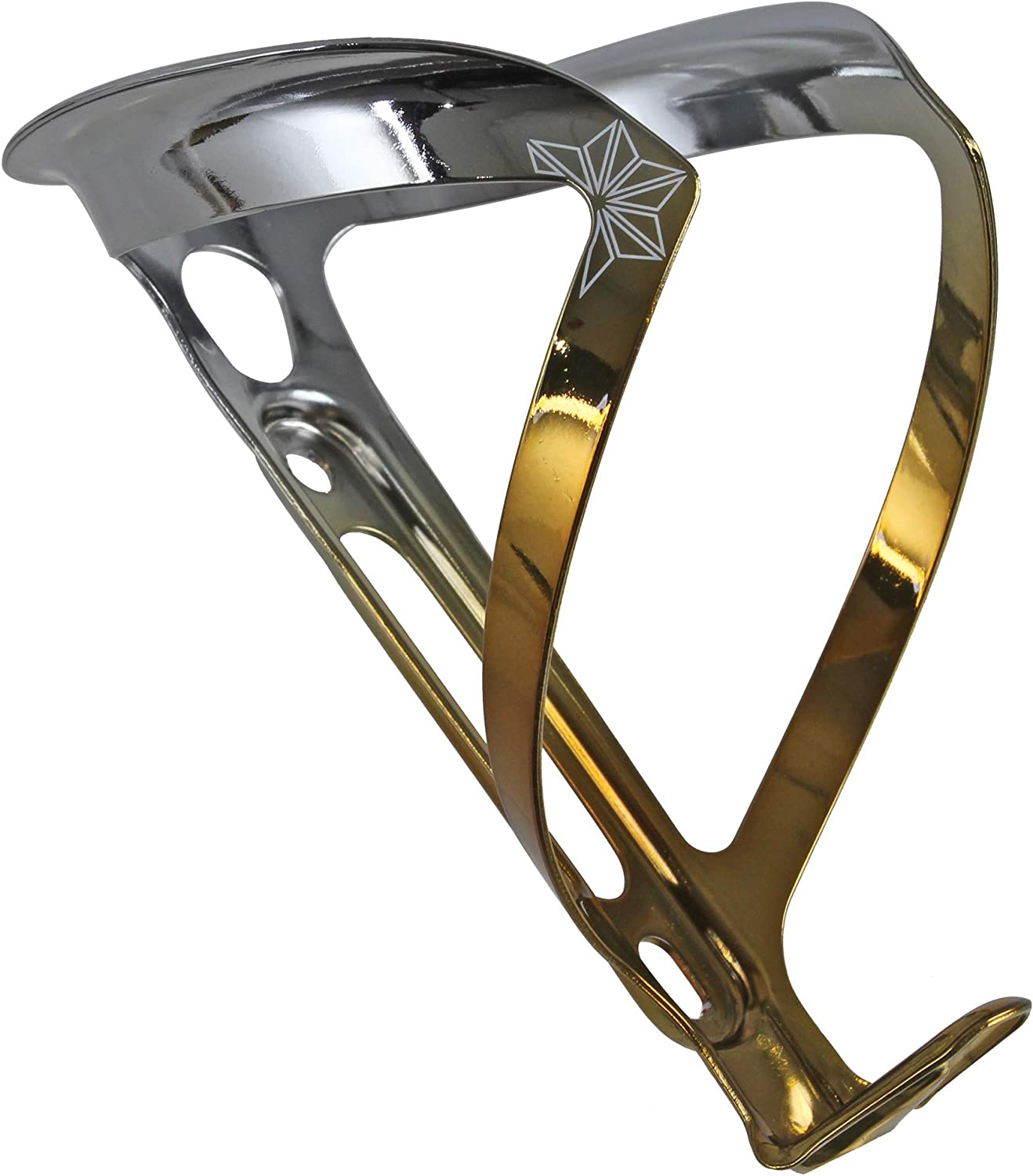 Supacaz Cycling Gold Ano Fly Water Bottle Cage 18g