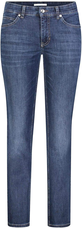 Mac Feminine Fit 5-Pocket-Jeans mit Stretch-Anteil Hose Schwarz NEU