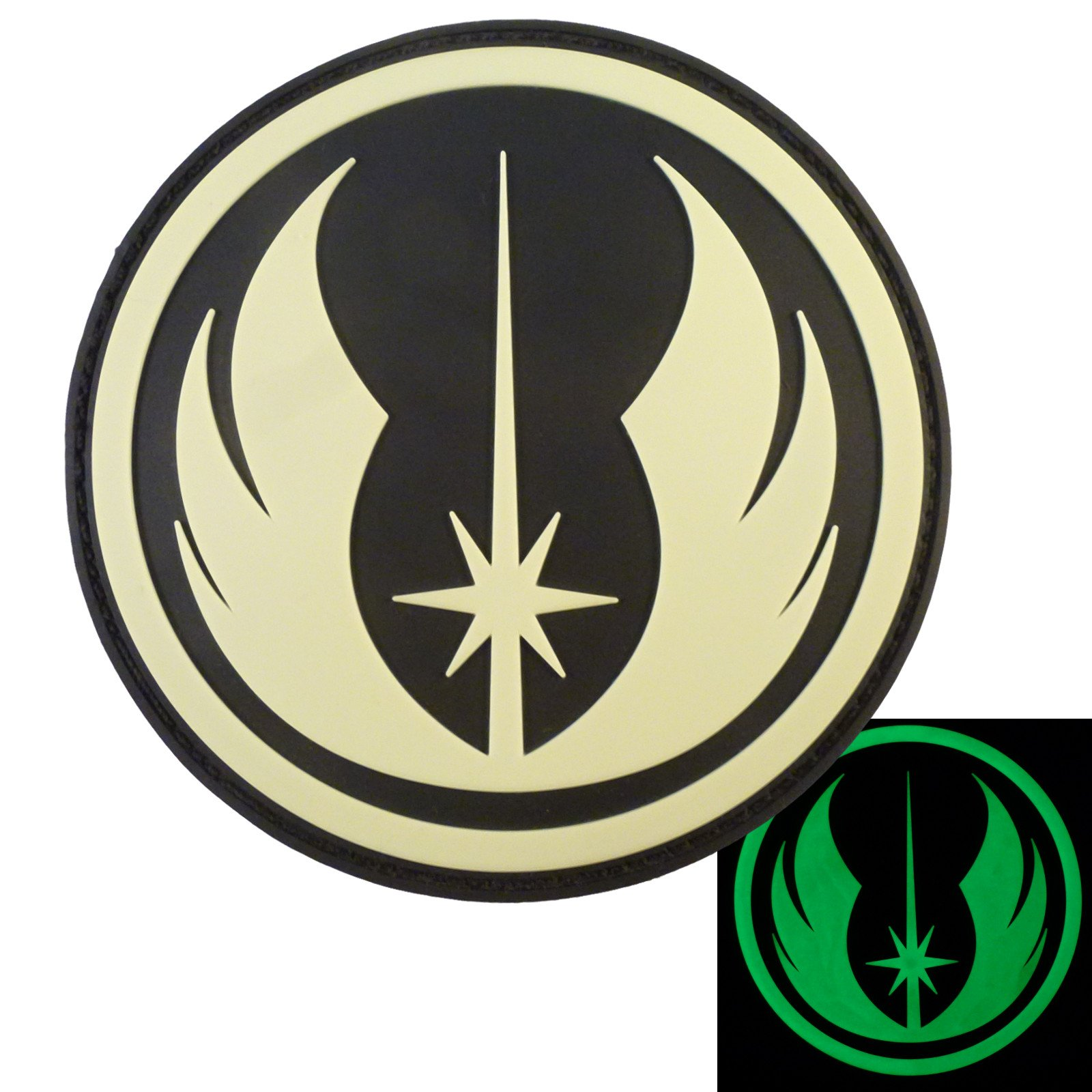 Jedi order glow in the dark star wars gitd pvc rubber 3d hook and jedi order glow in the dark star wars gitd pvc rubber 3d hook and loop patch new free shipping from the usa biocorpaavc