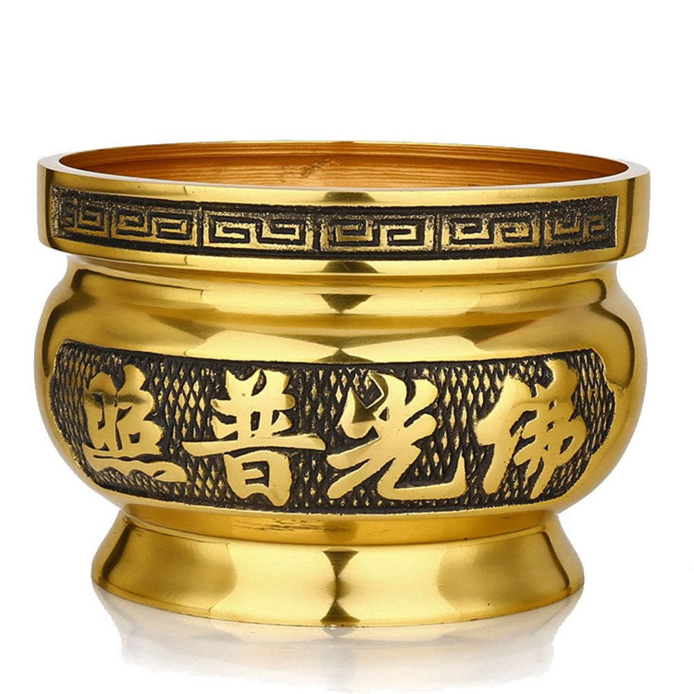 Temple, incense/[fine copper],alloy, incense,wealth,fragrant plug,aroma stove-M