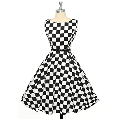 Welcometoo Polka Dot Dress Plus Size Summer Autumn Vintage 50s