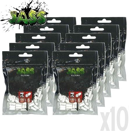 Filtres OCB Slim lot de 10 sachets de 150 Filtres 6 MM
