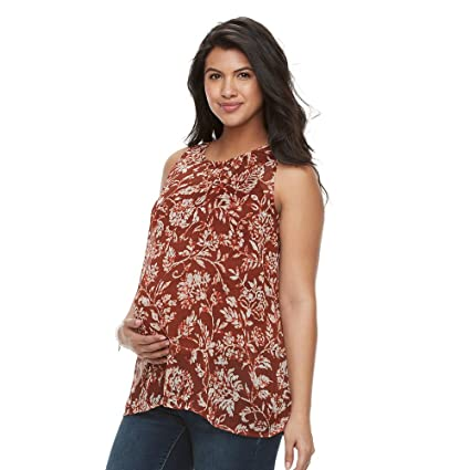 834036e90e8a3 Amazon.com : Swing tank aglow maternity Top, L : Everything Else