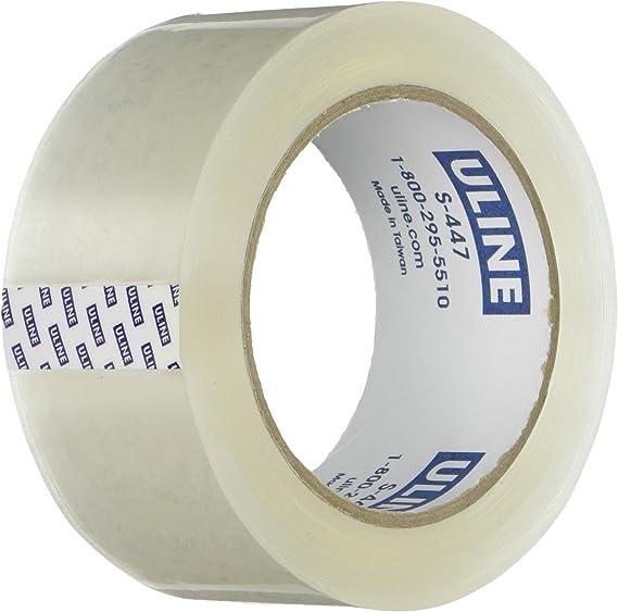 2/'/' Yellow Lot of 2 NEW Rolls Uline Heavy Duty Vinyl Safety Tape