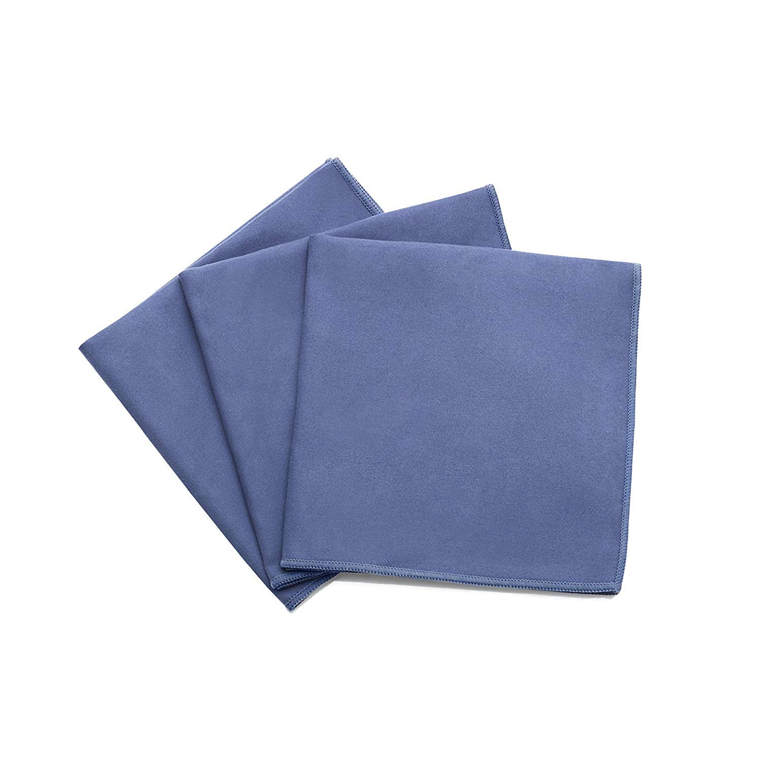 "Fuller Brush Specialty Suede Microfiber Cloths - Restores Luster to Wood & Leather - Extra Large 16""x16"" - 3 Pack"