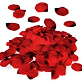 Royal Imports Red Silk Flower Romantic Artificial Rose Petals for Wedding Aisle, Party Favor & Table, Vase, Home Decoration,