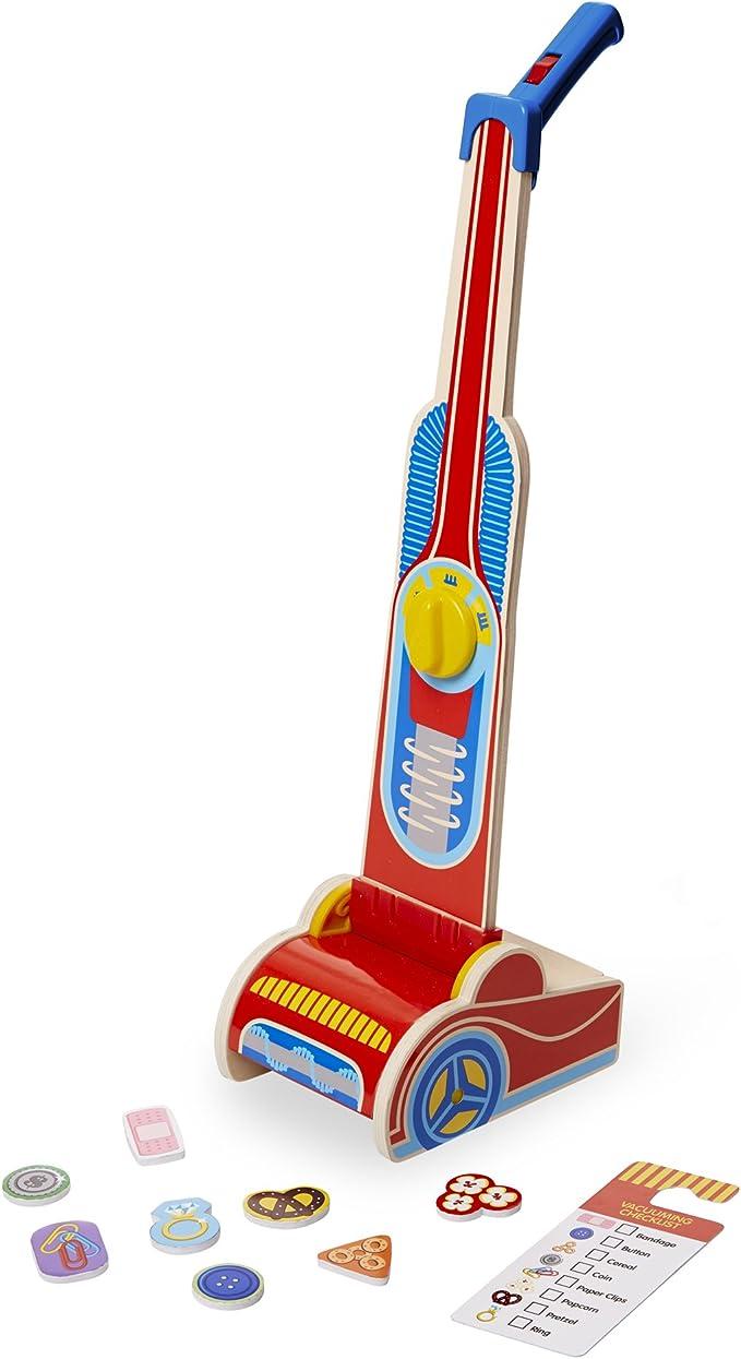 Melissa & Doug- Vacuum Cleaner Juguete Aspiradora, Multicolor (15189): Amazon.es: Juguetes y juegos