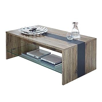 Modoform Table Basse Adorno Imitation Chene De San Remo