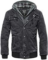 Brandit Men's Dayton Jacket Black Washed