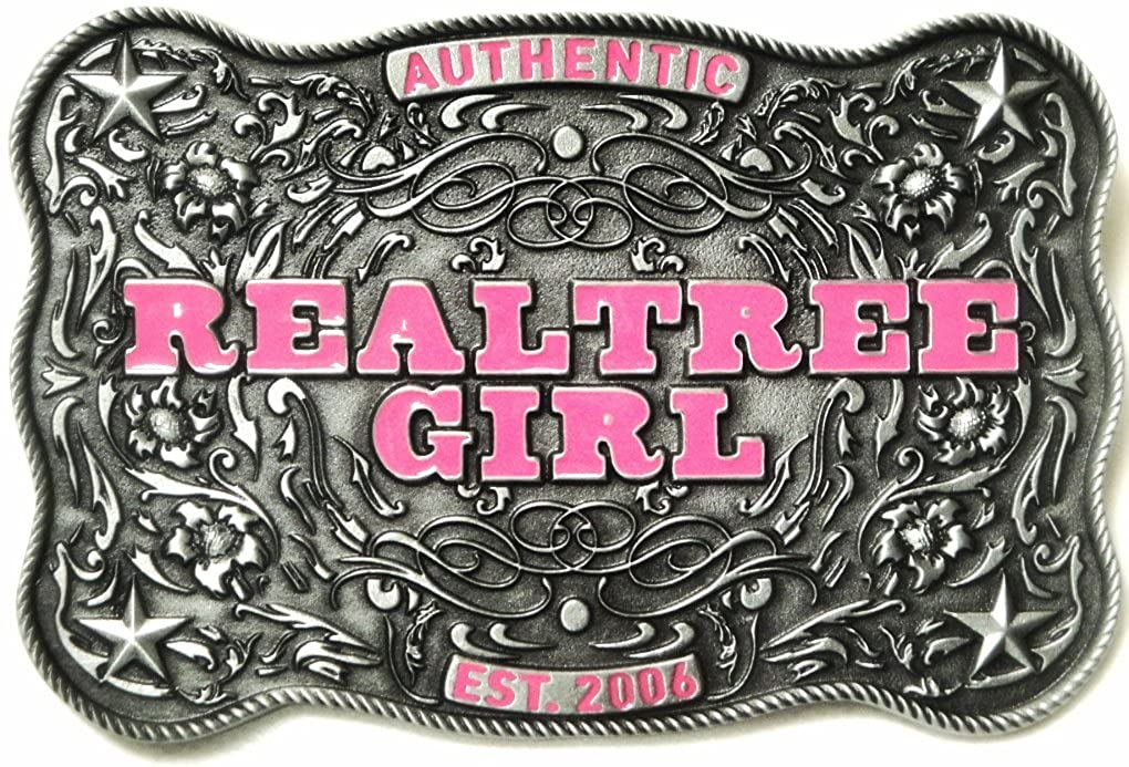DUCK DYNASTY REALTREE GIRL AUTHENTIC BELT BUCKLE OFFICIALLY LICENSED Great American