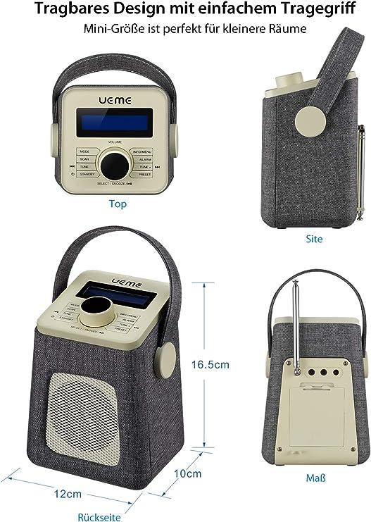 Ueme Mini Dab Dab Digital Radio And Fm Radio With Elektronik