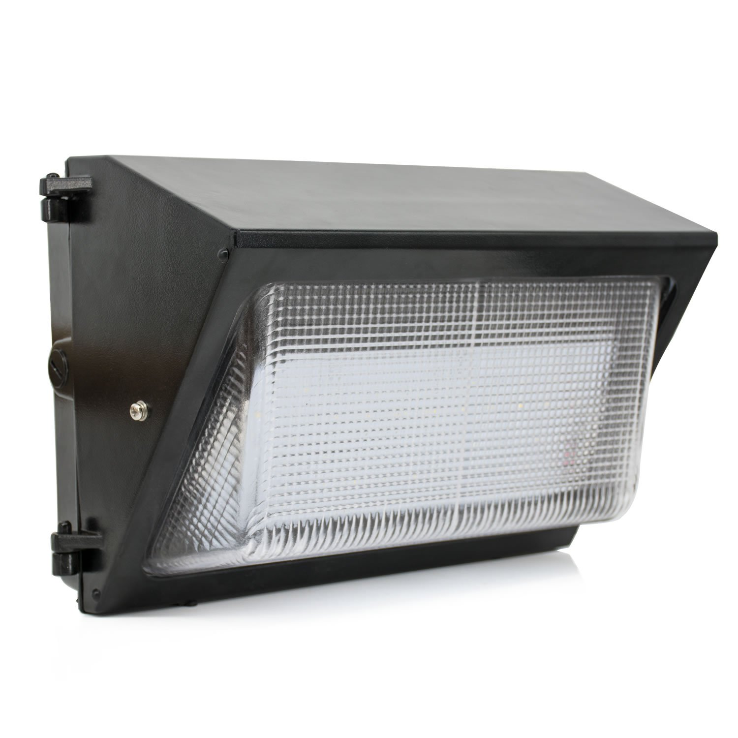 JESLED 120W LED Wall Pack Light,Wall Pack LED Outdoor Security Lighting Fixtures, 5000K Daylight White, 15360lm, 400-600 Watt HPS/HID Replacement, AC100-277V Industrial, Commercial, Residential