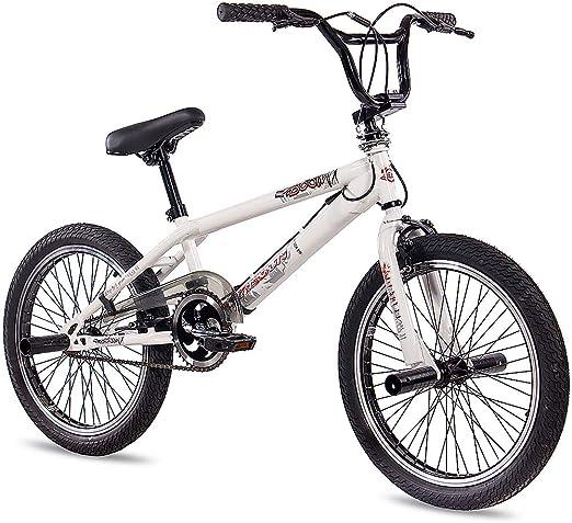 Kcp Bmx Kcp Doom - Bicicleta Infantil, Rotor 360 Freestyle, Color Blanco, 50,8&Nbsp;Cm (20&Nbsp;Pulgadas): Amazon.es: Deportes y aire libre
