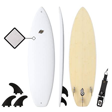 6 Shortboard Surfboard – Premium Hybrid Soft Top Surfboards – The 6 Razzo