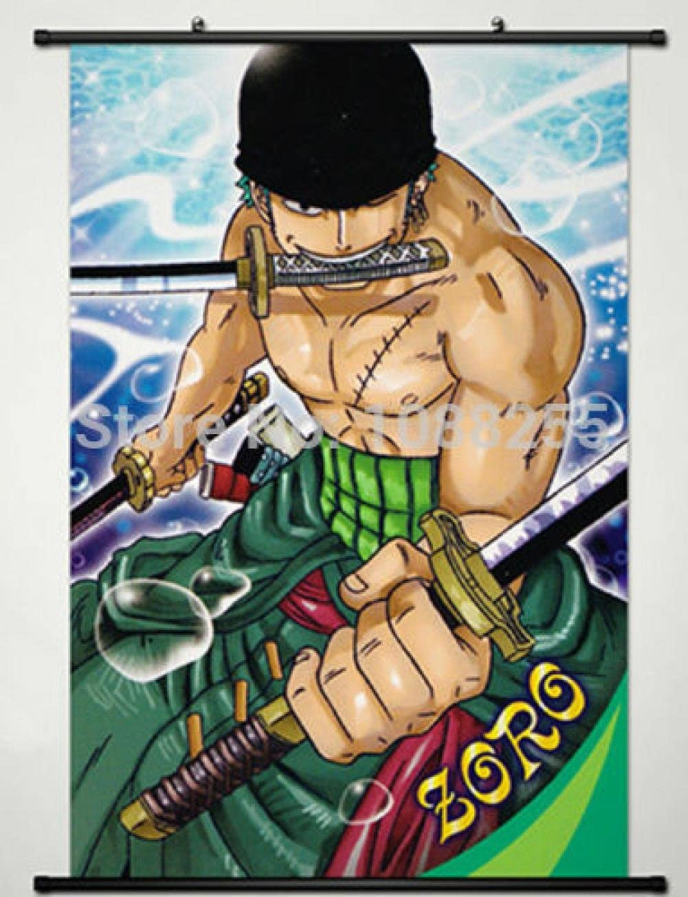 @006 One Piece Home Decor Anime Poster print Wall Scroll Gift Collection 40*60cm