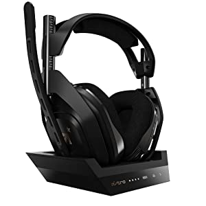 ASTRO Gaming A50 Wireless + Base Station for Xbox One & PC - Black/Gold