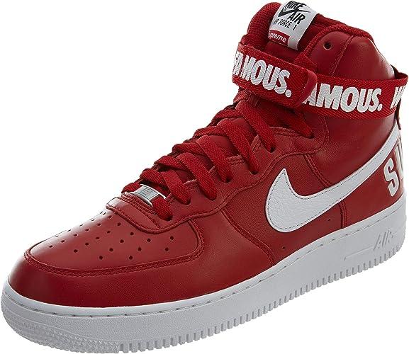 Nike AIR Force 1 HIGH Supreme SP 'Supreme' 698696 610