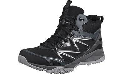95418d31342 Amazon.com | MERRELL Capra Bolt Mid GTX Men's Hiking Boot, Black ...