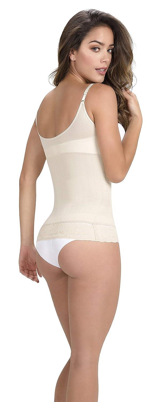 70500aed6e Faja Colombiana Cami Shaper Shapewear Skin Care Bodysuit Breast Enhance T- Shirt at Amazon Women s Clothing store