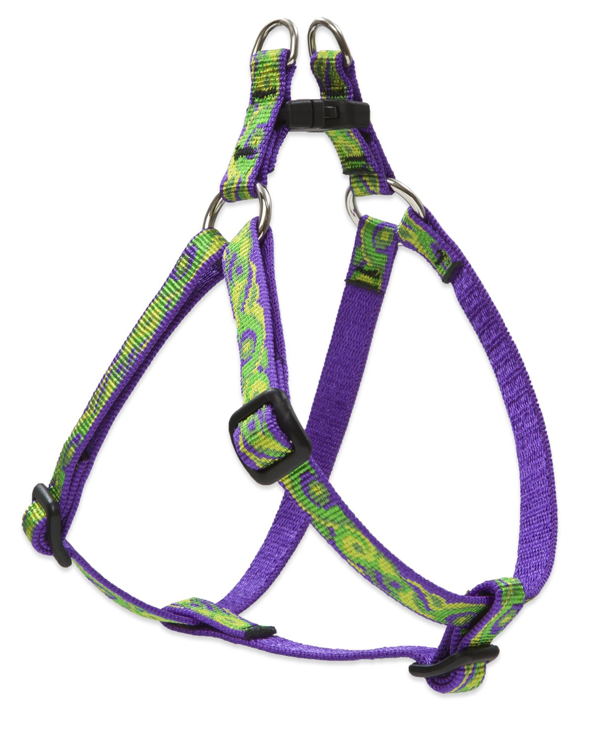 1 2\ Lupine Step in Dog Harness 1 2-Inch Width, 12-Inch to 18-Inch Girth, Big Easy