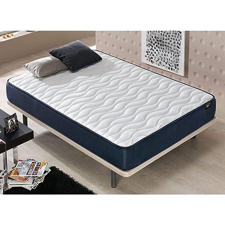 Mueble Canape con Base Tapizada + Colchon Visco + Cabecero 135x190 cms, Subida Domicilio ref-19 Color Gris: Amazon.es: Hogar