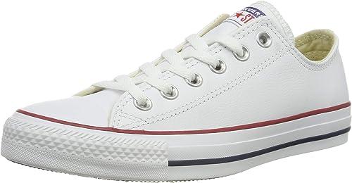 Converse Chuck Taylor All Star Leder Low Top Herren Sneaker White