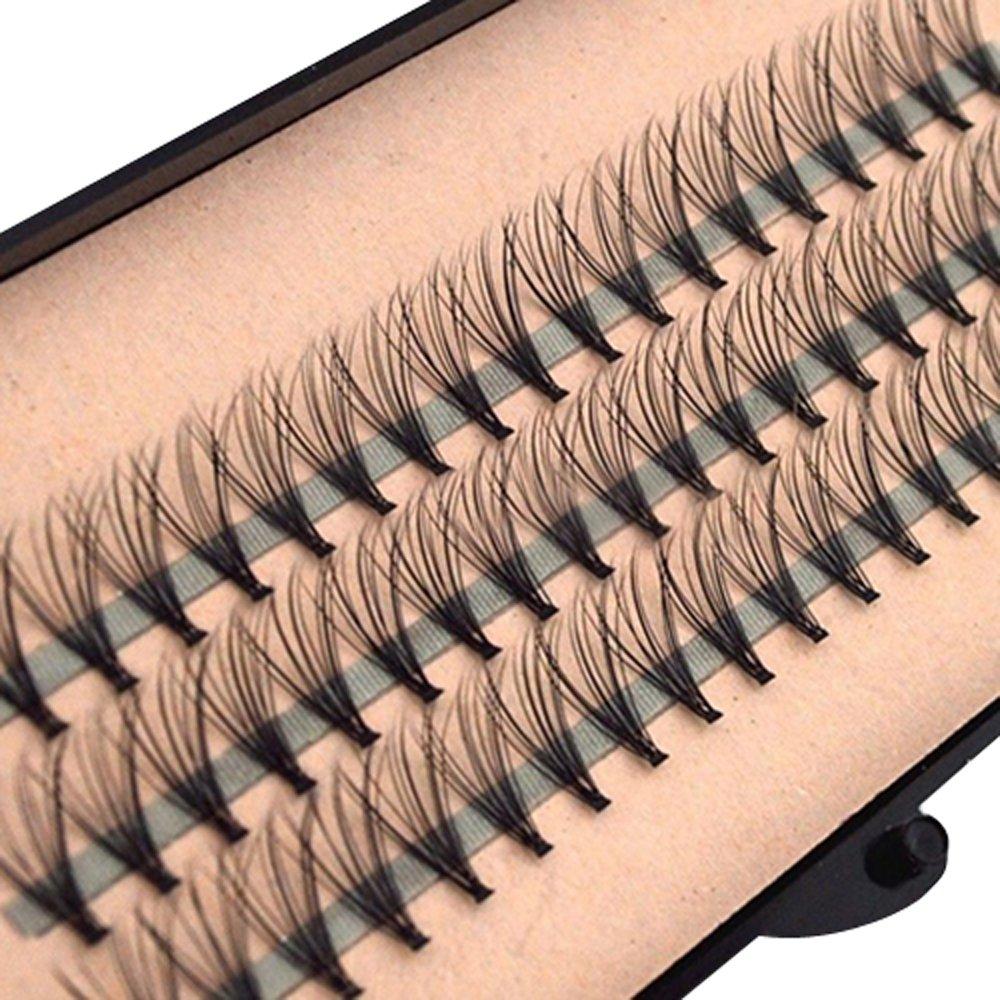 Amazon Knot Free Natural Flare Cluster Lashes For Eyelash