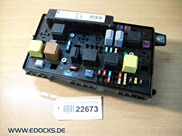 Fuse Box Relay Box Front Motor UEC 13206750 GX Astra H Opel ... Vauxhall Astra Fuse Box Problem on